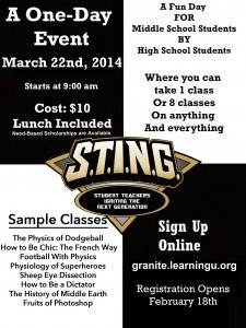 Sting 2014 Online Flyer